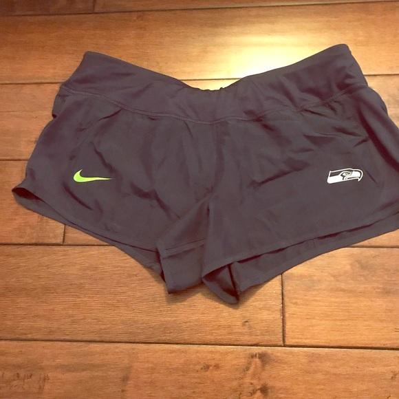 c49287ead13 Nike Shorts | Nwt Nfl Seahawks Size L 748193 419 | Poshmark